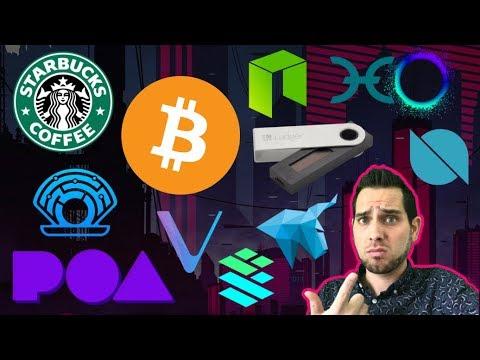 Starbucks NOT Accepting $BTC? OTC Sell-Off 😱 HitBTC Lawsuit | Ledger Nano S Bug | $HOT $VET $DEEP