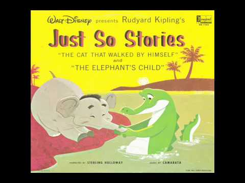 Just So Stories Volume 1 (Disneyland DQ-1268) - Sterling Holloway
