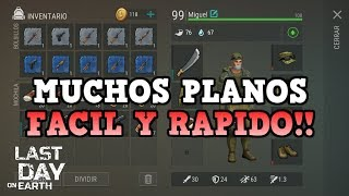 CONSIGUE PLANOS SUPER FACIL..! | LAST DAY ON EARTH: SURVIVAL | [RidoMeyer]