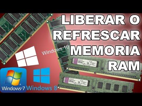 Como liberar o refrescar memoria ram en windows 7/8/10