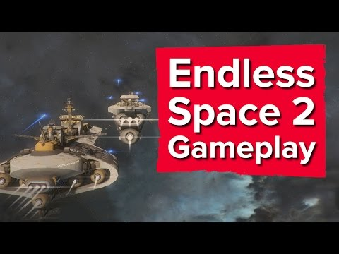32 minutes of Endless Space 2 Gameplay (including combat!)