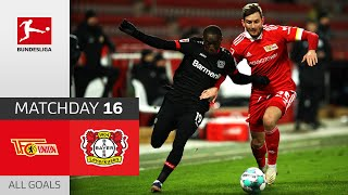 #fcub04 | highlights from matchday 16!► sub now: https://redirect.bundesliga.com/_bwcs watch all goals of union berlin vs. bayer 04 leverkusen ...