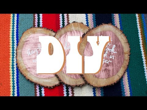 DIY | Gift Ideas with Wood from the Garden!