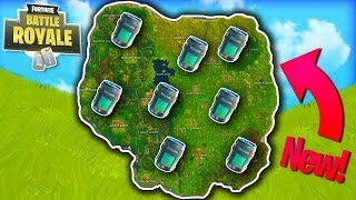 FORTNITE CHUG JUG SECRET LOCATIONS!! | STREAM HIGHLIGHTS (Fornite: Battle Royale)
