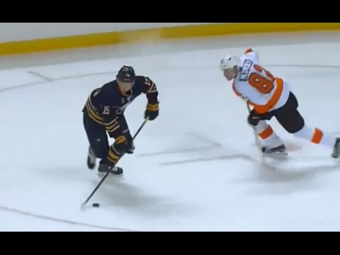 Eichel cuts in and scores against Philadelphia