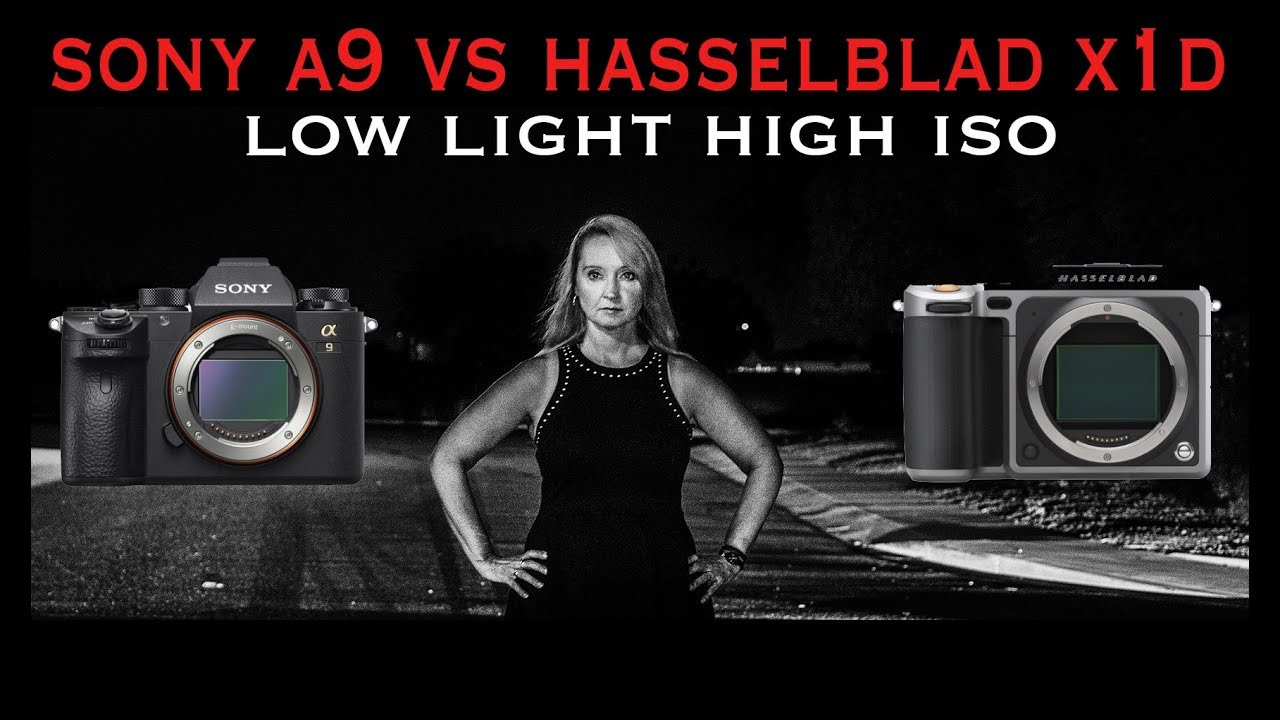 Medium Format vs 35MM  Sony A9 vs Hasselblad X1D - Extreme Low Light