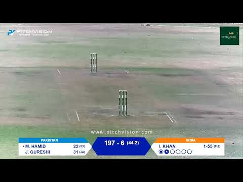 Over 50s Cricket World Cup | India Vs Pakistan
