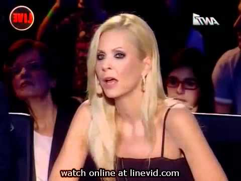 MUST SEEPATRICK    The X Factor 3 Greece  39 s /  Live 2  05/11 /2010