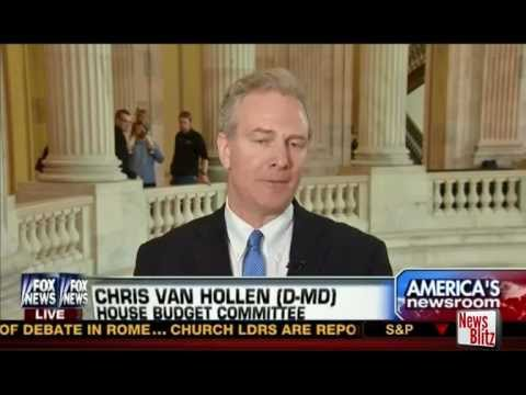 Rep. Chris Van Hollen Loses it on FOX News over Ryan Budget
