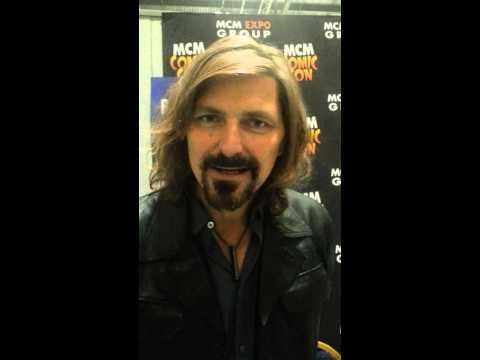 Robin Atkin Downes Medic London Comicon 2014