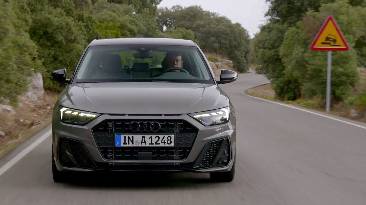 2019 Audi A1 Sportback Chronos Grey Driving Interior