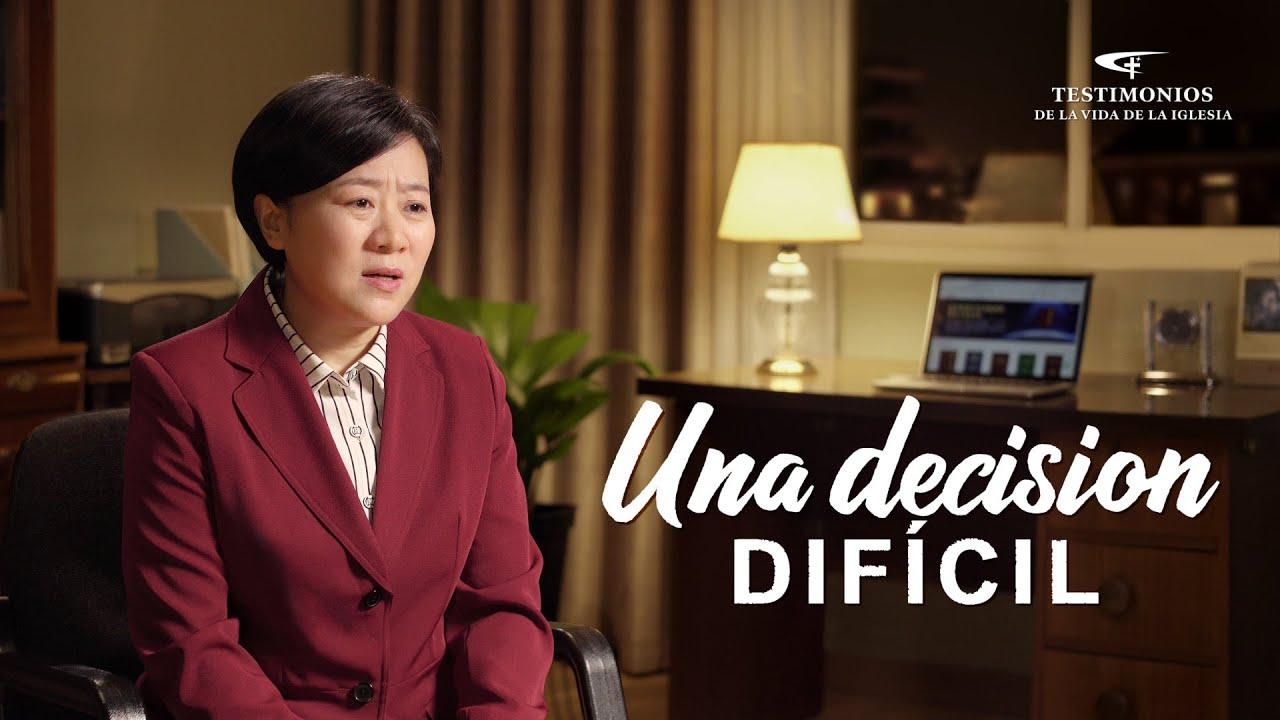 Testimonio cristiano 2021 | Una decision difícil