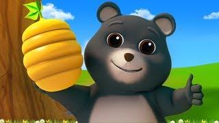 Beruang Pergi Ke Gunung | Lagu Anak-Anak | Sajak Anak-Anak | Bear Went Over The Mountain | Kids Song