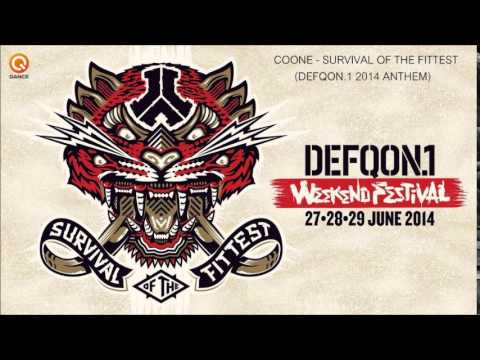 Coone - Survival of the fittest (Defqon.1 2014 Anthem) [HARDSTYLE]