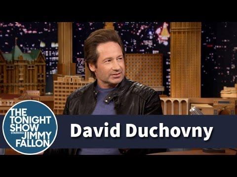 David Duchovny Was the Head Boy in High School