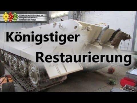 Königstiger Restaurierung // King Tiger restoration [ENG SUBS][русские титры]