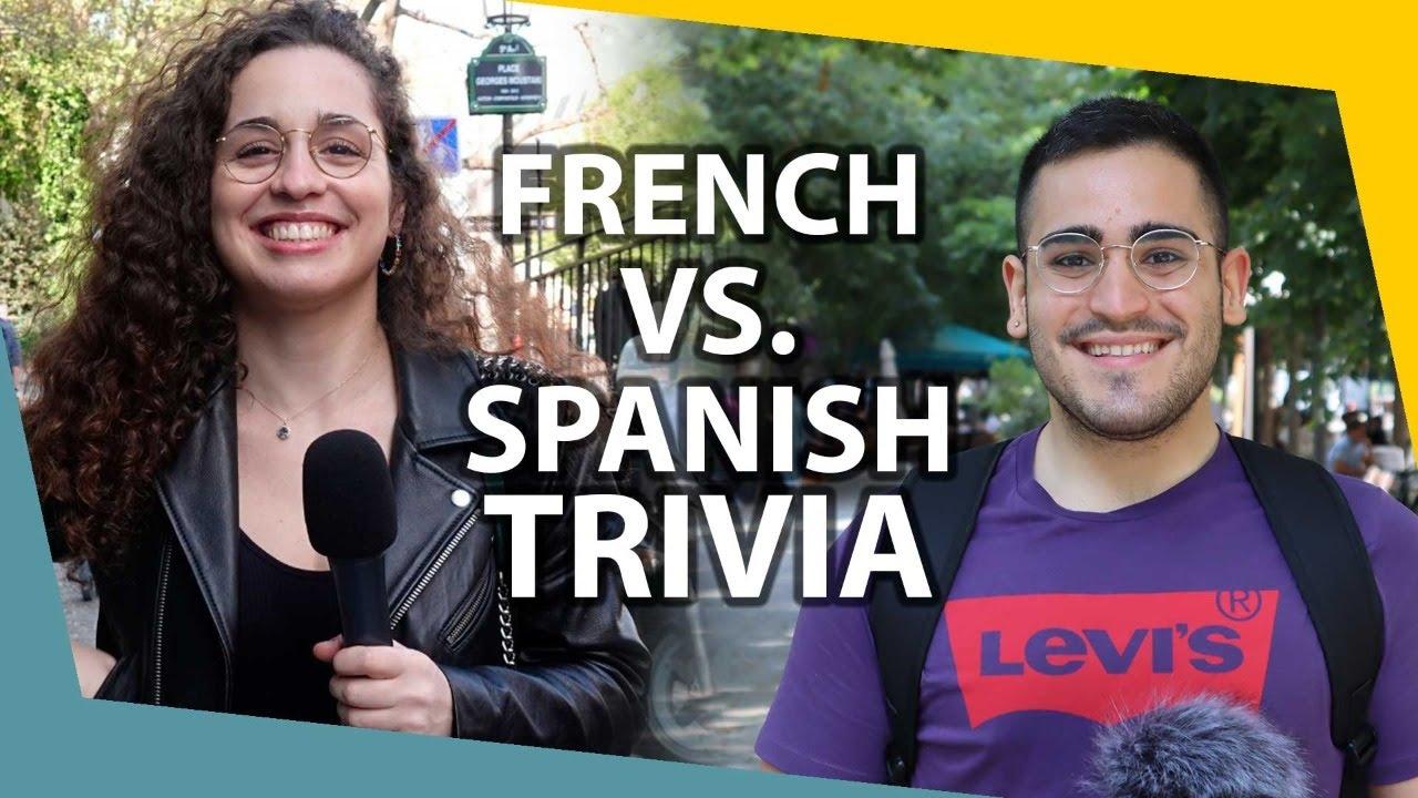 Spanish vs. French Trivia   Livestream