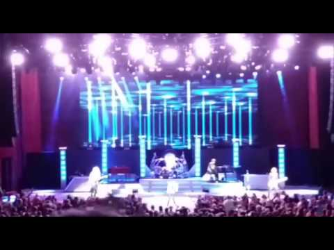 Reo speedwagon live in  cleveland ohio 8/29/16 at blossom music center