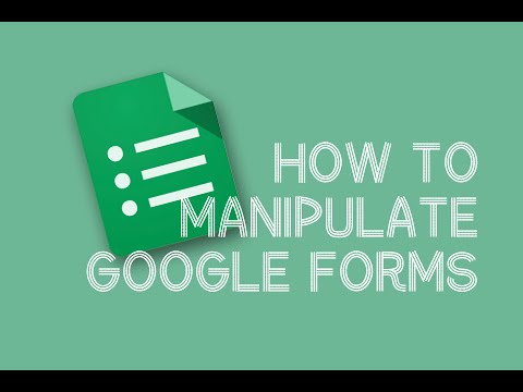 How to Create and Edit Google Forms