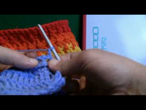 How To Crochet Using Back Posts BPDC - RH