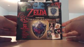 Legend of Zelda Collector's Fun Box Unboxing - Trading Cards