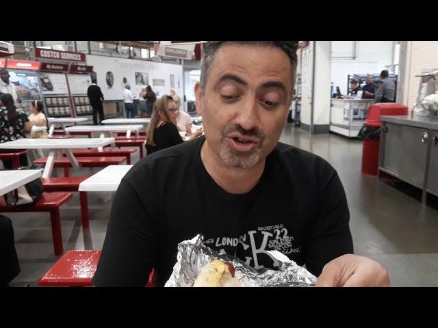 Sausage Challenge at Costco