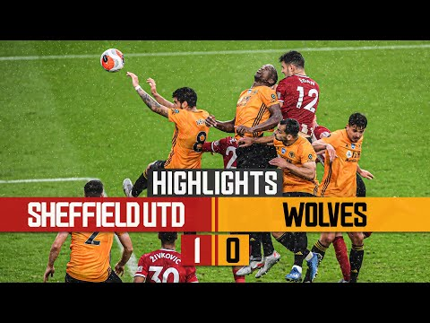 Wolves suffer late agony | Sheffield United 1-0 Wolves | Highlights