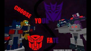 Destructicons Showcase - (Roblox Transformers Universe Development)