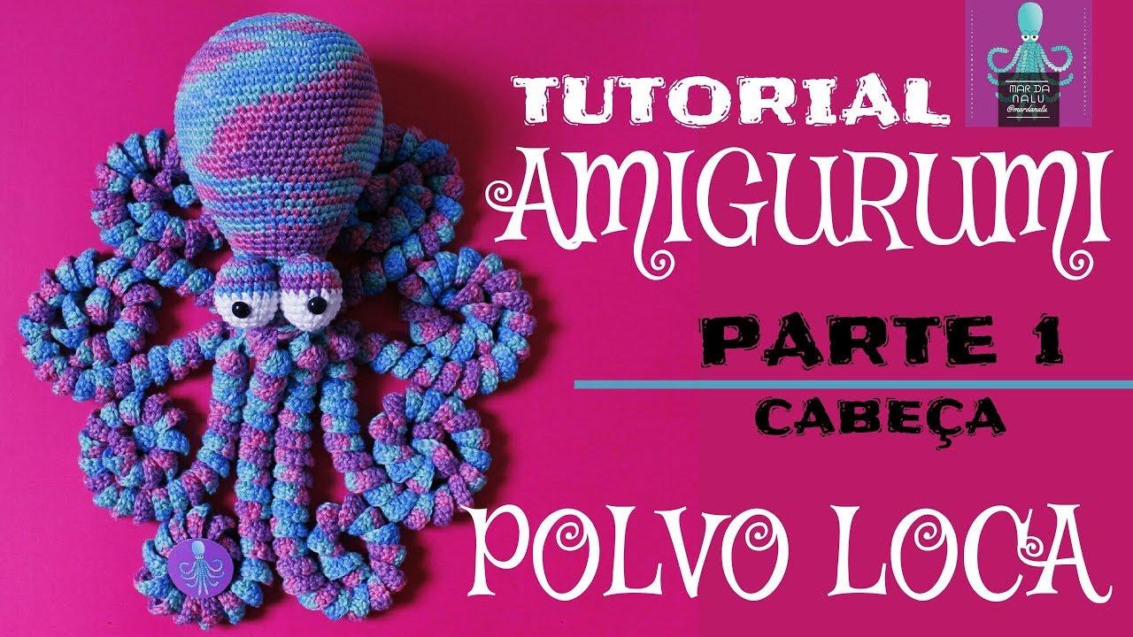 Octopus Amigurumi für neugeborene rosa-aquamarine Farbe. Crochet ... | 720x1280