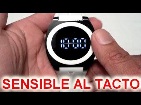 diseño de calidad ea9b5 8203b Reloj Touch Screen Demostracion Y Como Ajustarlo