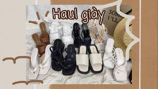 SHOPEE HAUL // CÁC THỂ LOẠI GIÀY, DÉP, SANDAL CÓ ĐỦ TRONG HAUL NÀY // Beauty by Ha