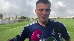 HSV-Neuzugang Jordan Beyer stellt sich vor