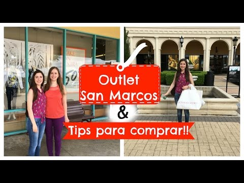 OUTLET SAN MARCOS + TIPS PARA COMPRAR!!