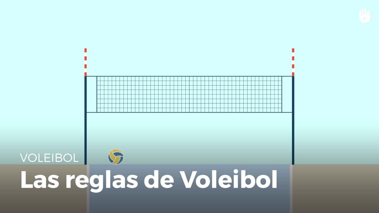 Reglas de voleibol resumidas