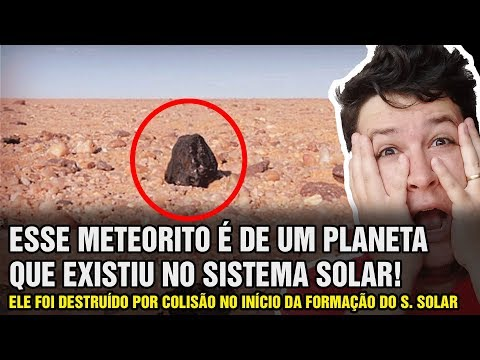 Diamante em Meteorito Revela Restos de Planeta Perdido a 4.5 Bilhões de Anos! (#808 - N. A.)