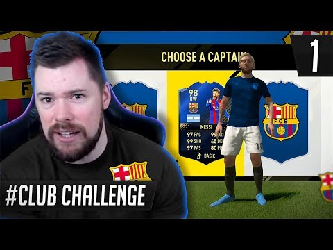 *NEW SERIES!* - FC BARCELONA FUT DRAFT CLUB CHALLENGE #01