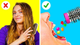 AWESOME LIFE HACKS WITH CANDIES AND YOUR FAVORITE STUFF || 5-Minute Recipes To Amaze You