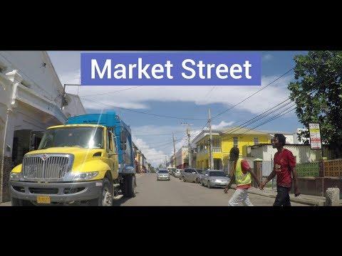 Market Street, Falmouth, Trelawny, Jamaica
