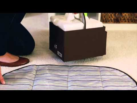 JJ Cole Diapers and Wipes Caddy - Stylish changing on the go