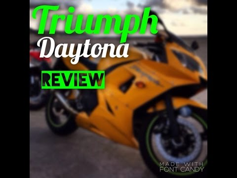 Triumph Daytona  review