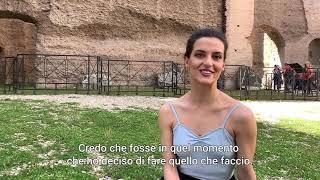Intervista a Susanna Salvi - Danza | Terme di Caracalla | Giovani Creativi