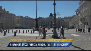 29/10/2016 - MEGAYACHT, BUCCI: VENEZIA ANNOIA, TRIESTE NE APPROFITTI