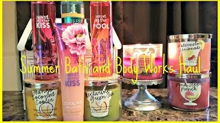 Summer Bath & Body Works Haul ft. Summer Sips Collection Thumbnail