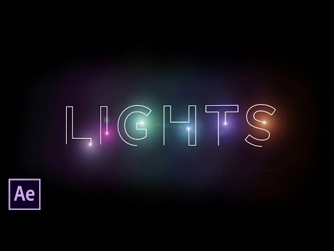After Effects Tutorial: Light Stroke   No Plugins