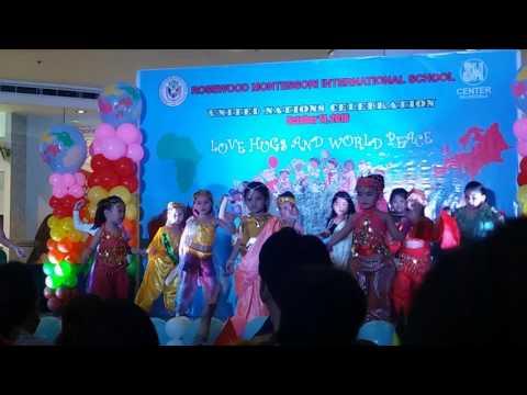 Rosewood Montessori international school United Nations Celebration