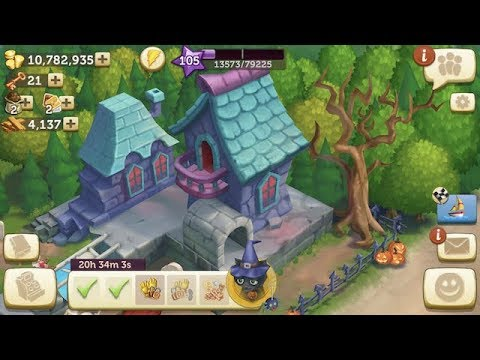 FarmVille 2 Country Escape👻🎃Haunted Halloween Playhouse Event👻Day 7 IOS GamePlay