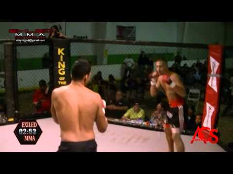 EXILED MMA and ACSLive.TV PRESENTS Shaun Anouthai Vs Denado Richardson