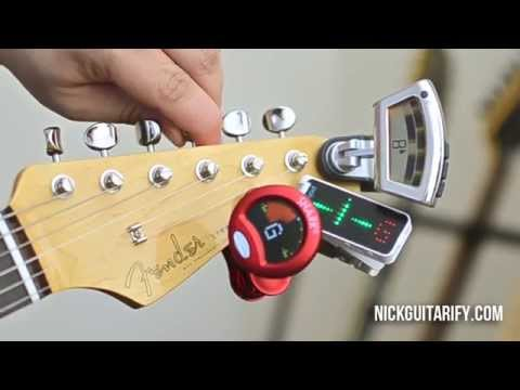 How To Tune A Guitar – Let's Look At The Options – GMI