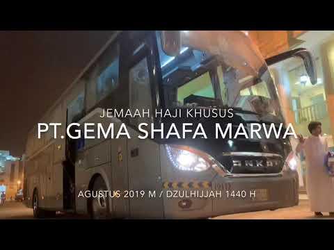 Penyambutan Jema'ah Haji Khusus VIP GSM 2019 Di Makkah