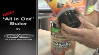 Body Fortress Shaker Cup Demonstration